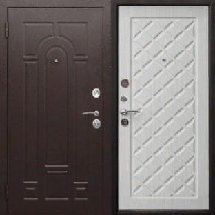 Дверь входная РИМ Белый ясень