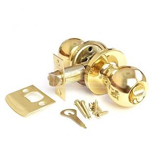 Ручка-защёлка круглая PUNTO, золото