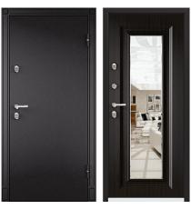 Дверь входная TOREX Snegir 20, Венге/зеркало