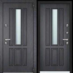 Дверь входная TOREX Снегирь Коттедж-1, SNG-1 Белый