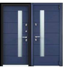 Дверь входная TOREX  Снегирь Коттедж-3, Синий сапфир