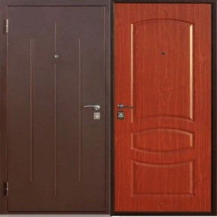 Дверь входная СТРОЙГОСТ 7-1 Итальянский орех
