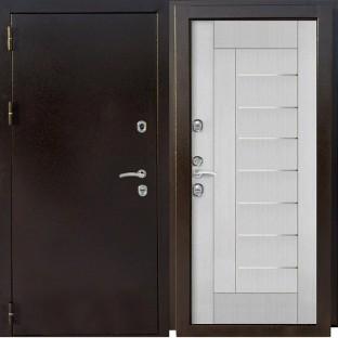 Дверь входная Агрия  ТЕРМОБОКС МА Лиственница светлая