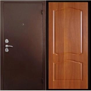 Дверь входная ТРОЯ М Старое дерево