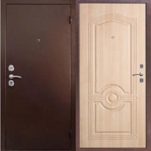 Дверь входная ТРОЯ М 1 Белёный дуб