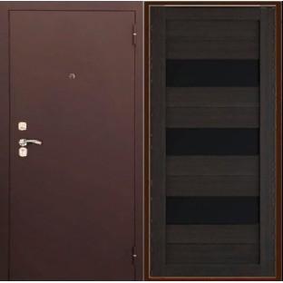 Дверь входная ТРОЯ М Царга Венге