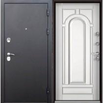 Дверь входная ТРОЯ Муар Белый