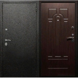 Дверь входная ТРОЯ Муар Венге