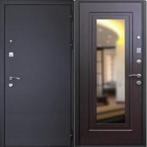 Дверь входная ЦАРСКОЕ ЗЕРКАЛО МУАР, Венге