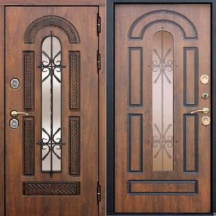Дверь входная ВИТРА 13 см Винорит патина