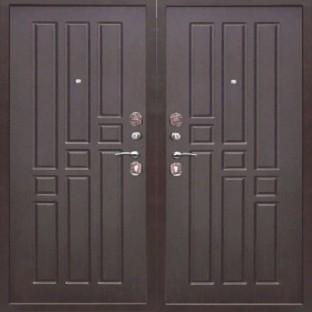 Дверь входная ЙОШКАР МДФ-МДФ Венге