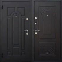 Дверь входная ЙОШКАР Венге штамп
