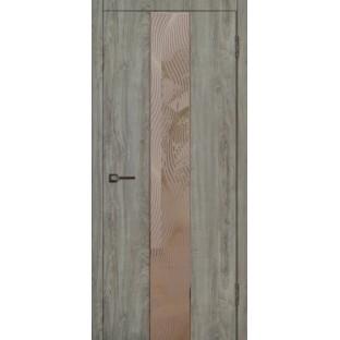 Дверь Бланко с зеркалом