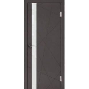 Дверь Перфект 1-1 белое стекло