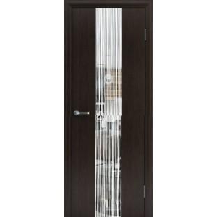 Дверь ВЕРБА Дождь с зеркалом