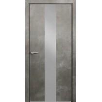 Дверь ДАРА Сильвер 4 Бетон серый