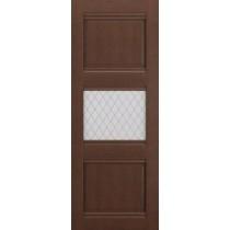 Дверь Корсика-1 Коричневый ясень