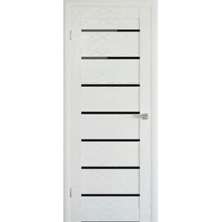 Дверь М - 102 Т черное стекло