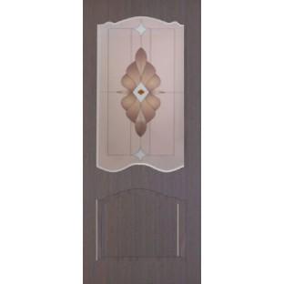 """Дверь Азалия стекло """"Тонга"""" с фьюзингом"""