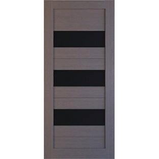 Дверь Лайт 3, стекло черное