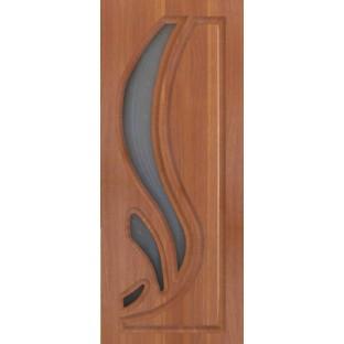 Дверь Лотос витражное стекло