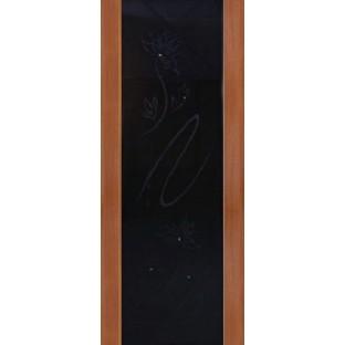 Дверь Милано Порто 2 черный триплекс