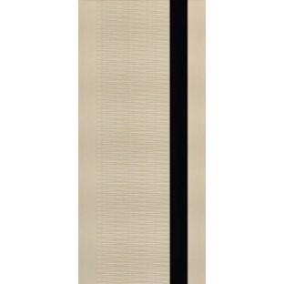Дверь Палермо 3D, стекло черное