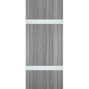 Дверь Платинум 6, Алюминиевая кромка