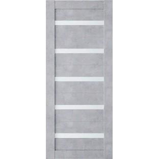 Дверь Техно 5 бетон, сатинат