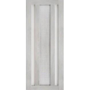 Дверь Техно 6-3D, сатинат