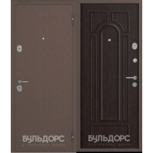 Дверь входная БУЛЬДОРС-14 медь B-2 Венге