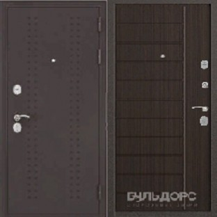 Дверь входная БУЛЬДОРС КОМБАТ V-9 Дуб серый