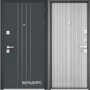 Дверь входная БУЛЬДОРС PREMIUM-90, Ларче белый 9P-131