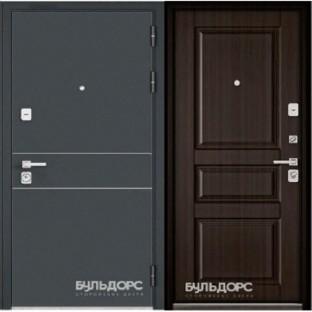 Дверь входная БУЛЬДОРС PREMIUM-90, Ларче шоколад 9PD-2