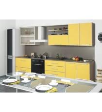 """Кухня """"Лимон"""" 2.5 М. МДФ"""
