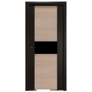 Дверь 3D-1 Венге/капучино