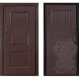 """Дверь входная БЕЛУГА """"БАРСЕЛОНА"""""""
