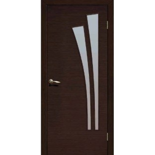 Дверь Лагуна, стекло сатинат