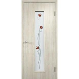 Дверь Тип 8, стекло Тюльпан