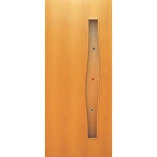 Дверь Волна, стекло с фьюзингом