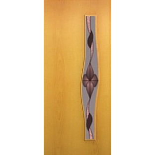 Дверь Волна, стекло с рисунком Сара