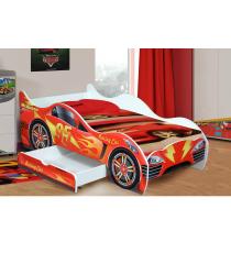 """Детская кровать-машинка """"Гонки"""" для мальчиков"""