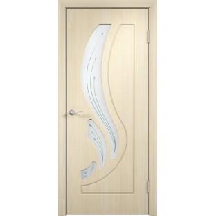 Дверь Лотос Беленый дуб