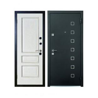 Дверь входная МОНОЛИТ, Беленый дуб
