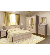 Спальный гарнитур 2 МДФ Патина