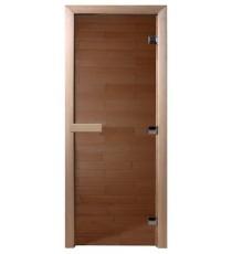 Дверь для САУНЫ стекло бронза