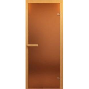 Дверь для САУНЫ стекло бронза матовое