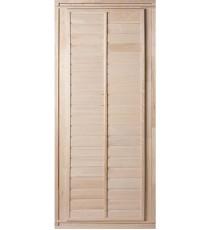 Дверь БАННАЯ с фольгой (липа класс Б)