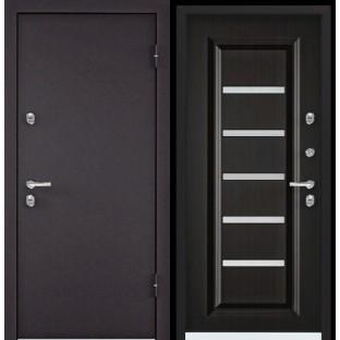 Дверь входная TOREX СНЕГИРЬ 20MP, S20-04 Венге