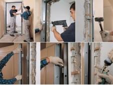 Правильная установка входной металлической двери